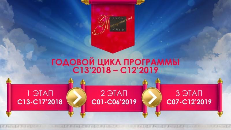 программа президентский клуб эйвон